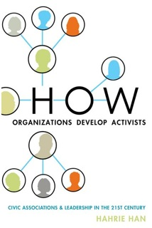 Front cover of How Organizations Develop Activists