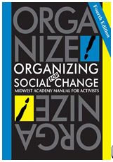 Front cover of Organizing for social change